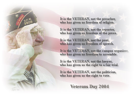 veterans day short poems about veterans day veterans day free ...