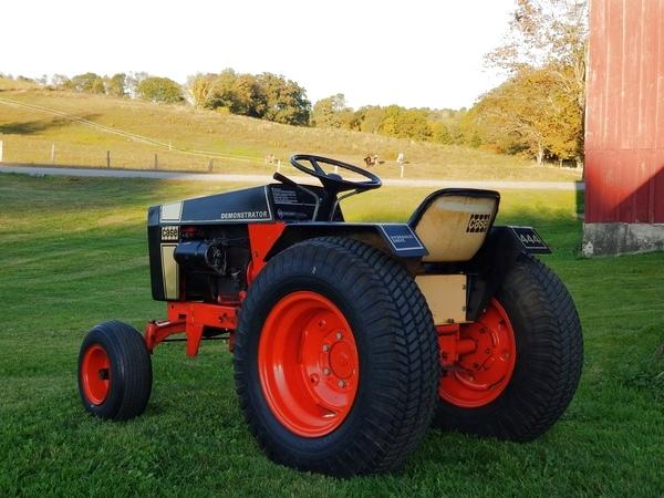 2) 1972 Case 444 Demonstrator G.T. - 2