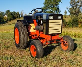 Photo 1972 Case Garden Tractor Demo