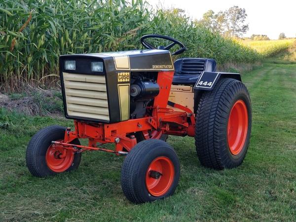 3) 1972 Case 444 Demonstrator G.T. - 5