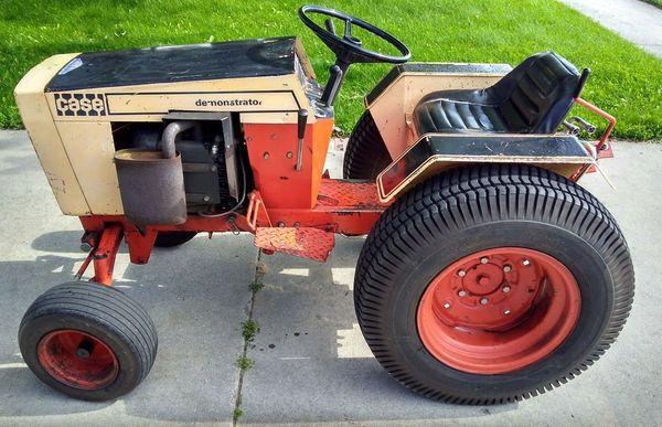 1974 Case 446 Golden Demonstrator Garden Tractor