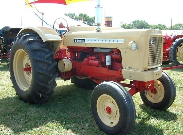 1962 Cockshutt 580 Super Experimental Diesel Tractor
