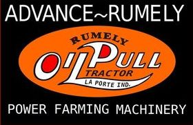 Photo of Anvanced-Rumely Tractor Sign
