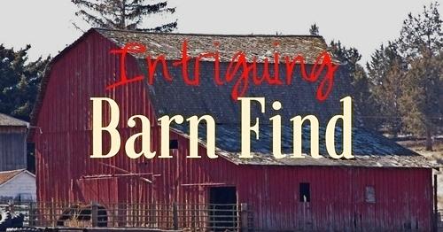 Barn Find Banner