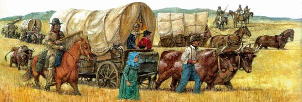 Early Wagon Train
