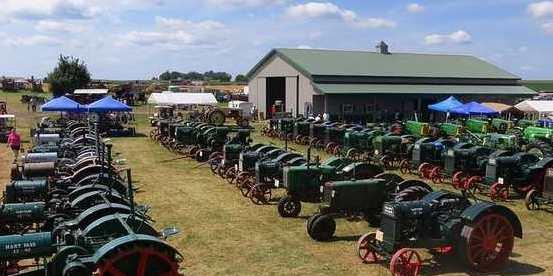 Many Hart-Parr Tractors
