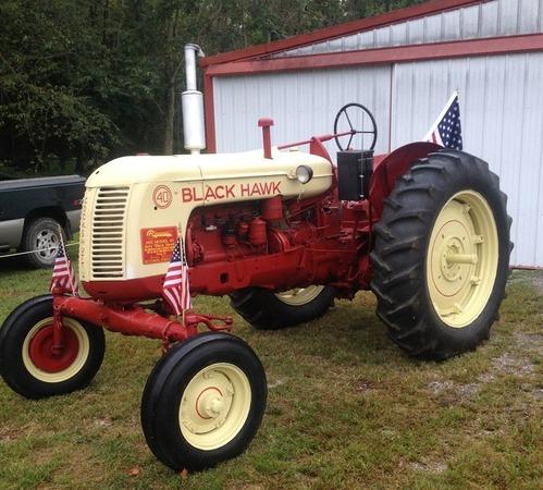 President Eisenhower�s 1955 Cockshutt Tractor