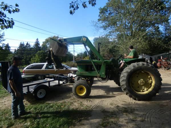 16) 1965 John Deere 3020 Tractor