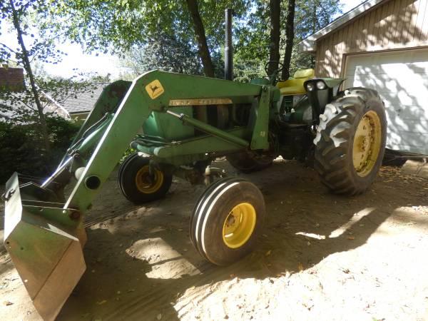 4) 1965 John Deere 3020 Tractor