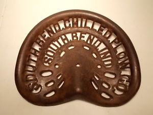 TTG Oliver S.B. Chilled Plow Co Tractor Seat
