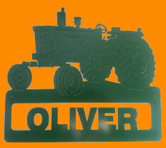 Photo of  Oliver Tractor Sign