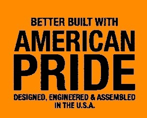 Made With American Pride Orange Banner