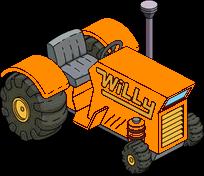 Photo of Orange Garden Tractor Puller