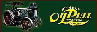 Rumely Oil Pull Banner