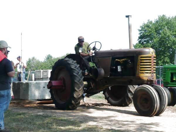 Photo of  Oliver 77 Tractor FFA Pull Goshen, 2014