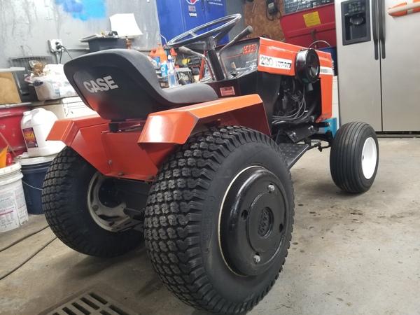 10) 220 Case Garden Tractor
