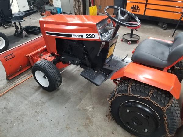 3) 220 Case Garden  Tractor