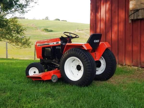 4) Case Garden Tractor Log Splitter 2019