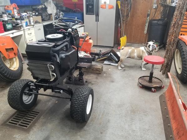 10) 446 Case Garden Tractor