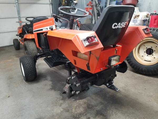 13) 446 Case Garden Tractor