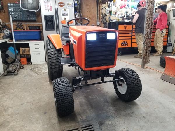 15) 446 Case Garden Tractor