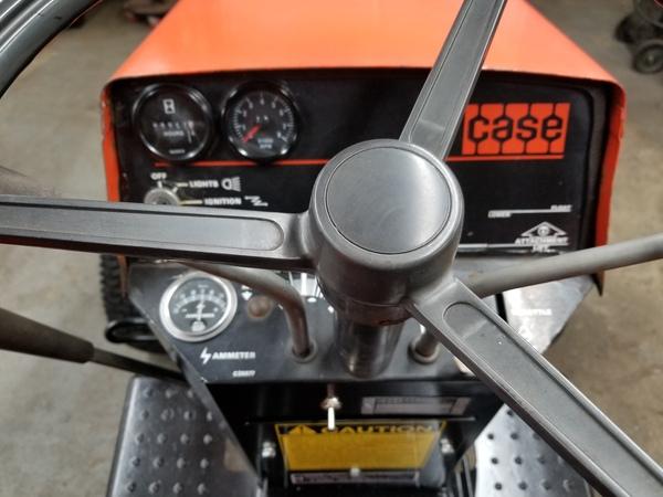 16) 446 Case Garden Tractor