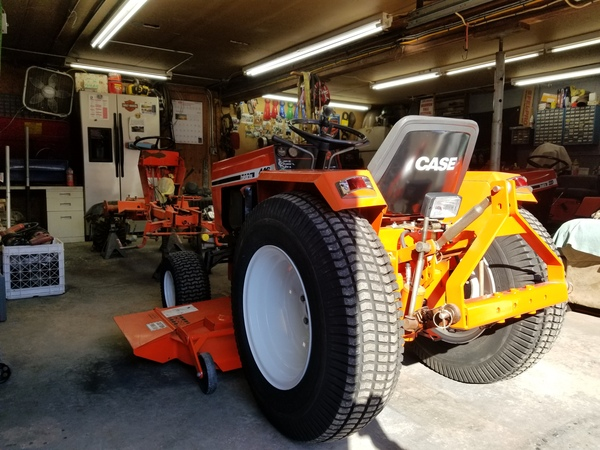 3) 446 Case Garden Tractor