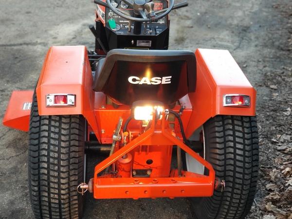 31) 446 Case Garden Tractor