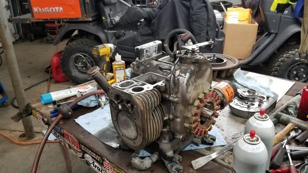 14) 446 Case Garden Tractor Refurb 2021