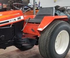 Case 448 Black Frame Garden Tractor