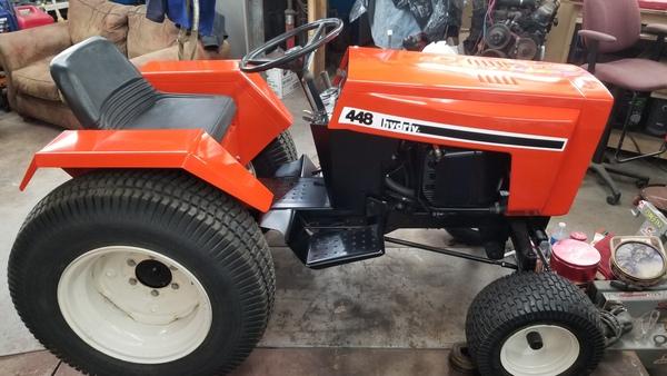 2) 446 Case Garden Tractor Refurb 2021