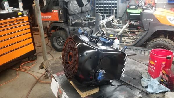 20) 446 Case Garden Tractor Refurb 2021