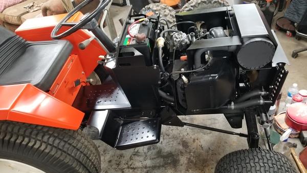 23) 446 Case Garden Tractor Refurb 2021