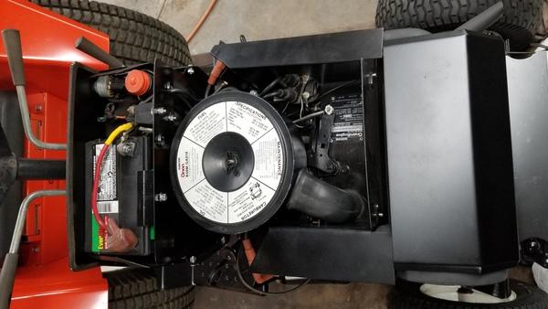 23a) 446 Case Garden Tractor Refurb 2021