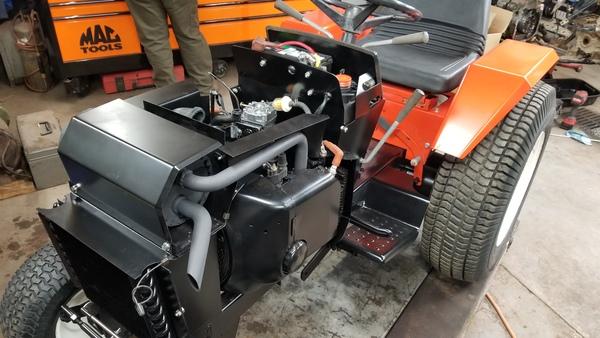 24) 446 Case Garden Tractor Refurb 2021