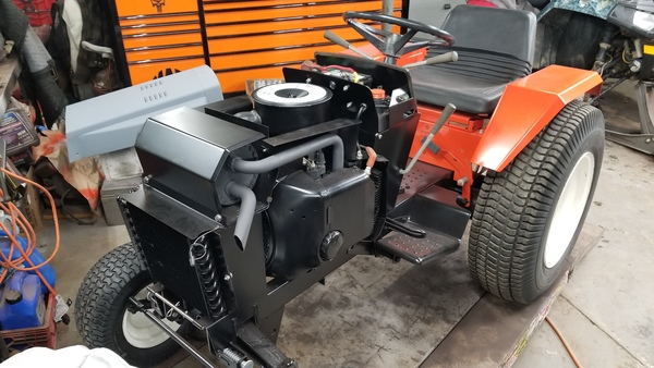 24a) 446 Case Garden Tractor Refurb 2021