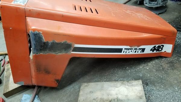 27) 446 Case Garden Tractor Refurb 2021