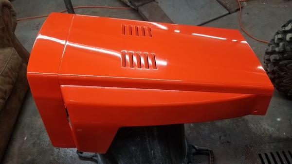 32) 446 Case Garden Tractor Refurb 2021