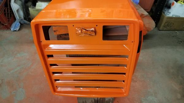 33) 446 Case Garden Tractor Refurb 2021
