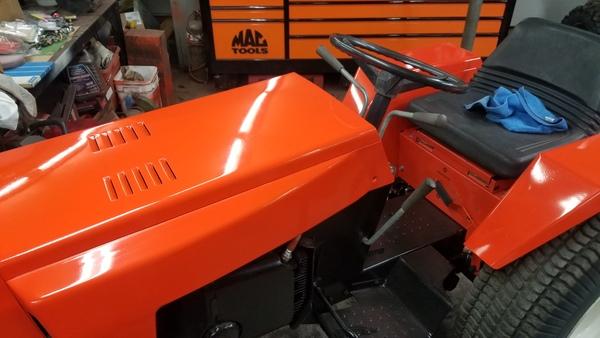 34) 446 Case Garden Tractor Refurb 2021