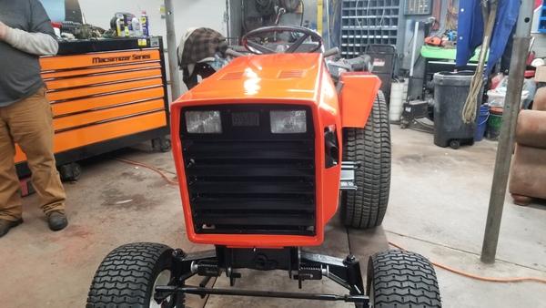 35) 446 Case Garden Tractor Refurb 2021