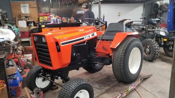 36) 446 Case Garden Tractor Refurb 2021