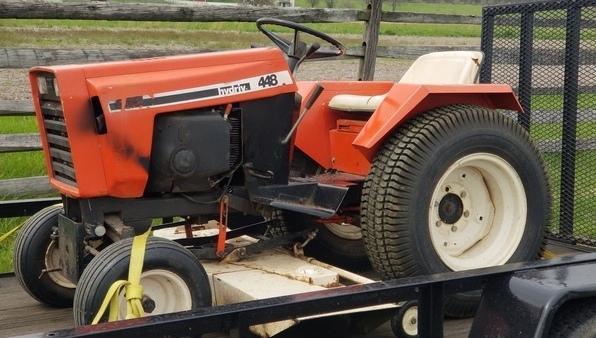 4) 446 Case Garden Tractor Refurb 2021