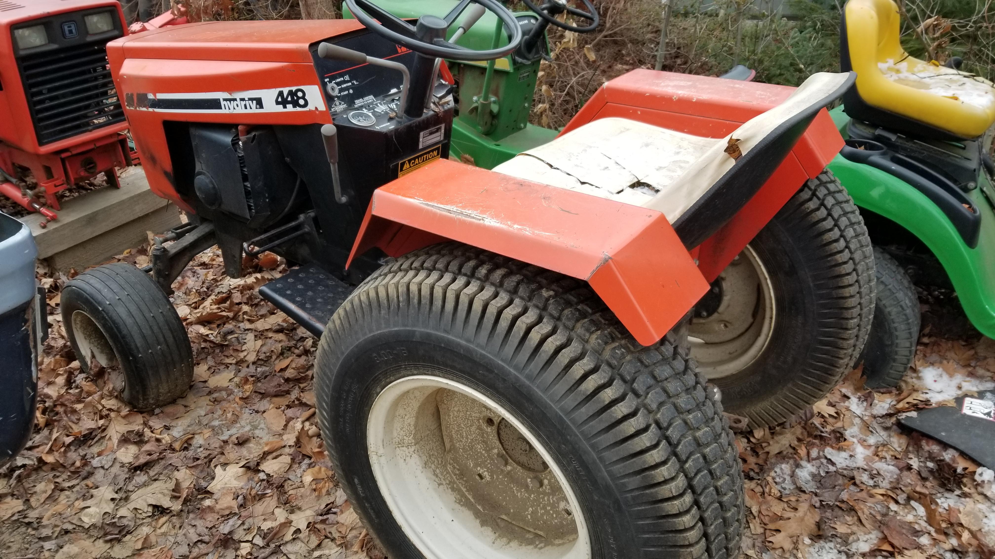5) 446 Case Garden Tractor Refurb 2021