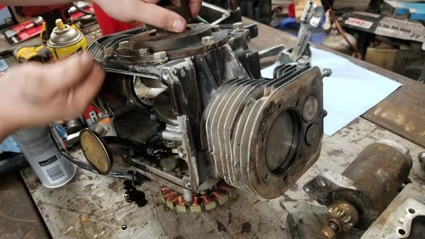 8) 446 Case Garden Tractor Refurb 2021