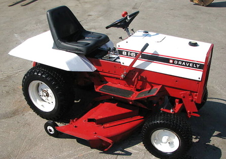 Photo of Gravely 8816S Tractor