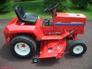 Photo of Gravely 8122 Tractor