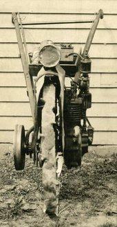 Photo of Gravely 1st Moter Plow