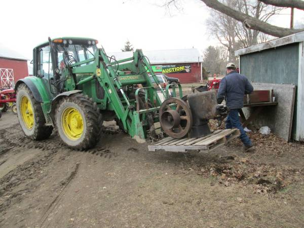 6) FM Hit & Miss Tractor
