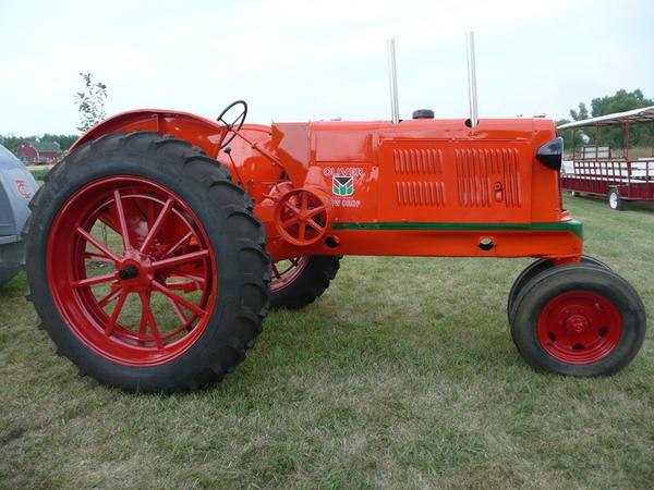 Oliver Orange 70 Tractor